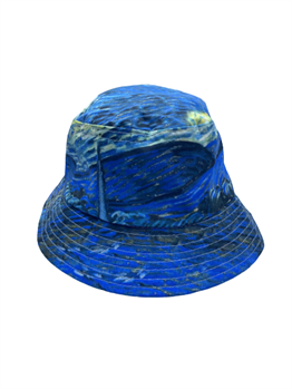 Van Gogh Starry Night Bucket Şapka