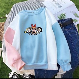 Yeni Sezon Powerpuff Girls Sweatshirt